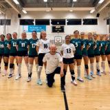 Lagbilde av volleyballspillere på D1